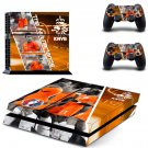 KNVB The Netherlands decal for PS4 PlayStation 4 console and 2 controllers