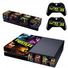 Mutants in Manhattan skin decal for  Xbox one console and 2 controllers