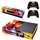 Tracer Fictional Character skin decal for  Xbox one console and 2 controllers