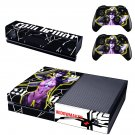 Widow maker skin decal for  Xbox one console and 2 controllers