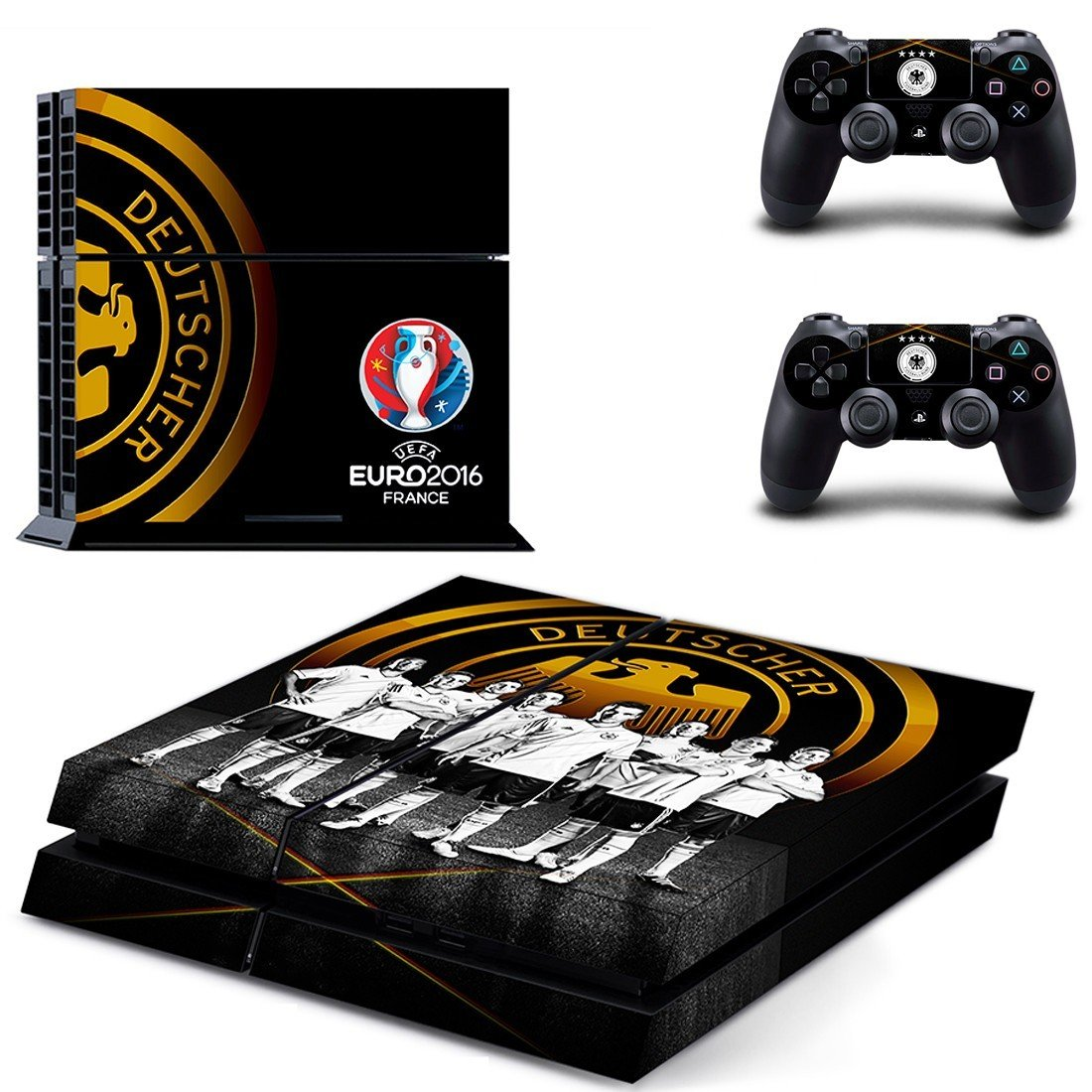 germany national football team ps4 skin decal for console and controllers