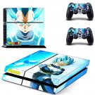 dragon ball vegeta ps4 skin decal for console and controllers