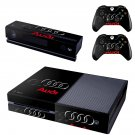 audi skin decal for  Xbox one console and controllers