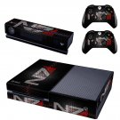 n7 skin decal for  Xbox one console and controllers