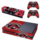raptors skin decal for  Xbox one console and controllers