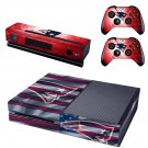 usa flag head skin decal for  Xbox one console and controllers