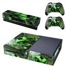 hulk avengers skin decal for  Xbox one console and controllers