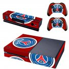 paris saint-german skin decal for  Xbox one console and controllers