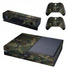 army dress skin decal for  Xbox one console and controllers