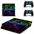 cool 3d skulls ps4 skin decal for console and controllers
