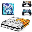 cool dragon ball z ps4 skin decal for console and controllers