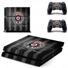 fk partizan soccer club ps4 skin decal for console and controllers