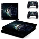 chelsa football club ps4 skin decal for console and controllers