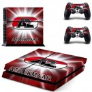 az alkamaar ps4 skin decal for console and controllers