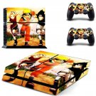 naruto manga series ps4 skin decal for console and controllers