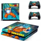 dragon ball super ps4 skin decal for console and controllers