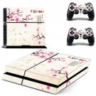 plant flower design ps4 skin decal for console and controllers