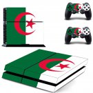 flag of algeria ps4 skin decal for console and controllers