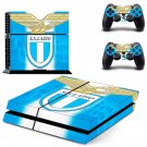 s.s. lazio ps4 skin decal for console and controllers