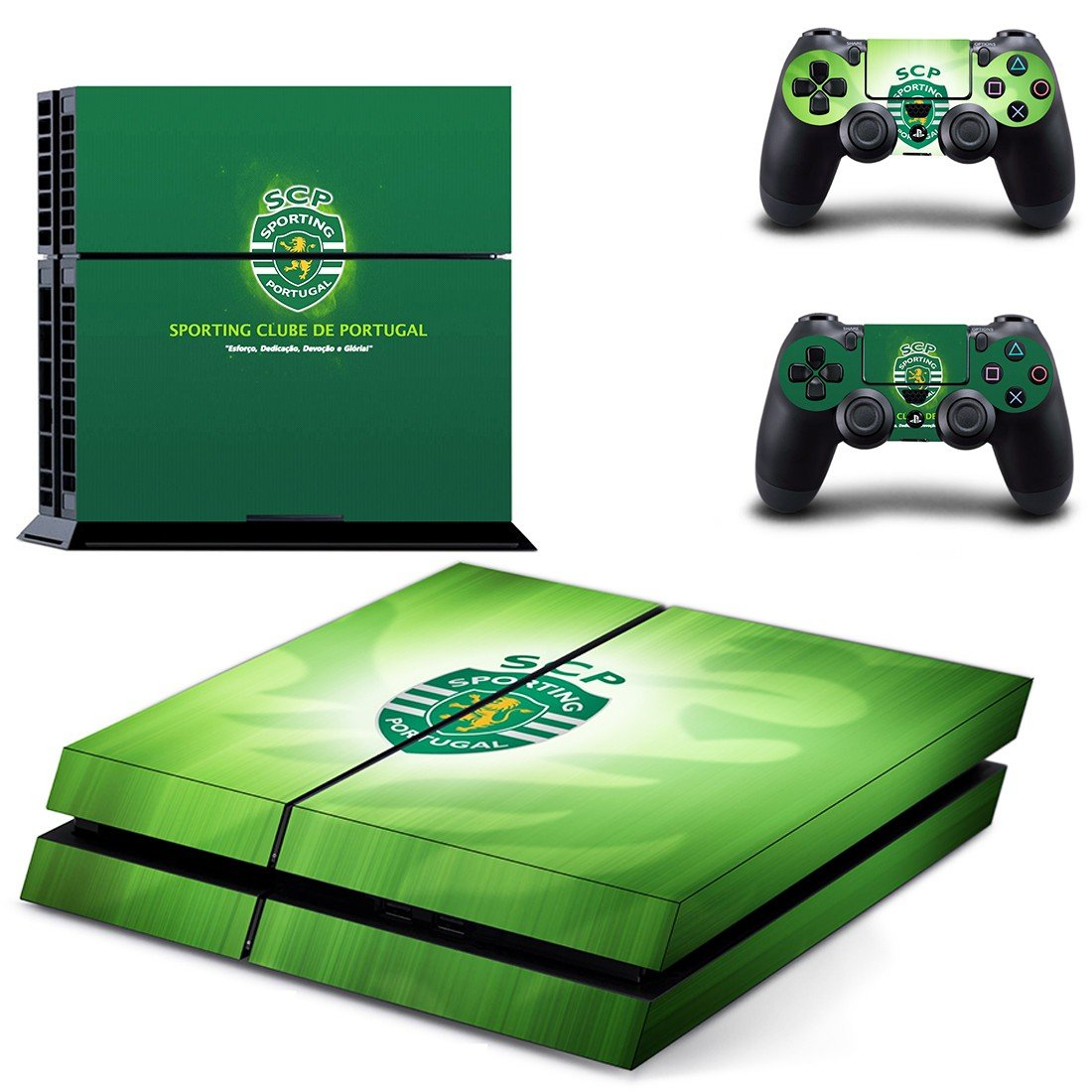 sporting club portugal ps4 skin decal for console and controllers