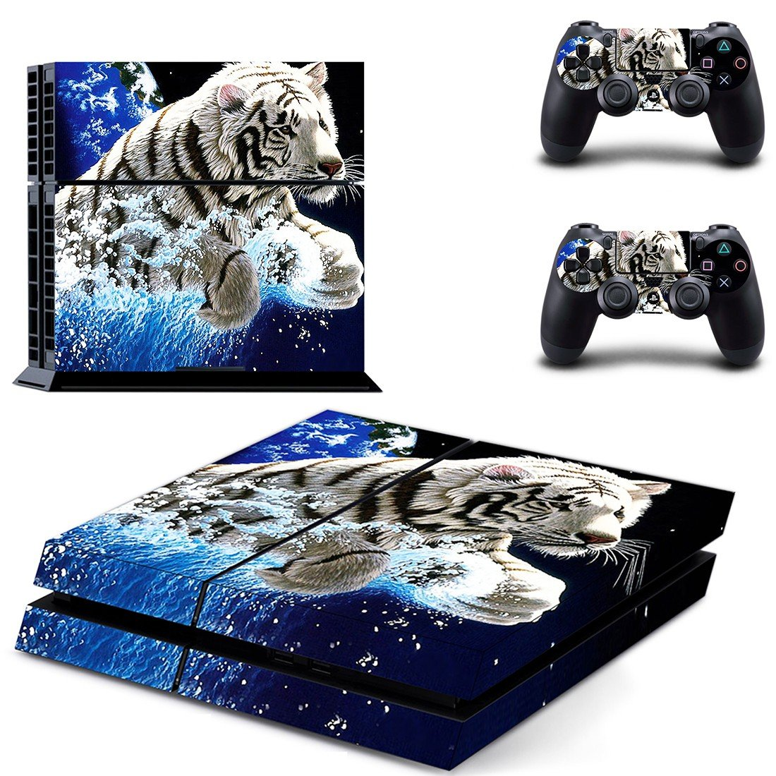 white tigers wallpapers ps4 skin