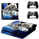 white tigers wallpapers ps4 skin decal for console and controllers