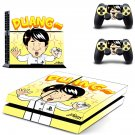 duang jackie chan ps4 skin decal for console and controllers