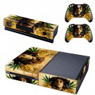 bob marley skin decal for  Xbox one console and controllers