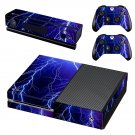thunder lightings skin decal for  Xbox one console and controllers