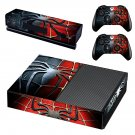metal spider skin decal for Xbox one console and controllers