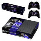 baltimore ravens skin decal for Xbox one console and controllers