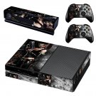 mourning harley quinn skin decal for Xbox one console and controllers