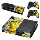 dragon ball z skin decal for Xbox one console and controllers