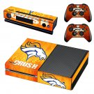 orange crush skin decal for Xbox one console and controllers