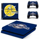 milwaukee brewers baseball team ps4 skin decal for console and controllers