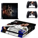 sergio ramos ps4 skin decal for console and controllers