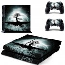 floating island with tree ps4 skin decal for console and controllers