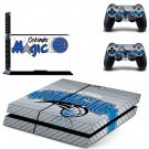 orlando magic ps4 skin decal for console and controllers
