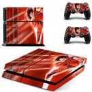 dragon ball z goku ps4 skin decal for console and controllers