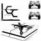 guilty crown ps4 skin decal for console and controllers