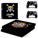 one piece ps4 skin decal for console and controllers