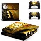 steelers depot ps4 skin decal for console and controllers