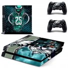 philadelphia eagles ps4 skin decal for console and controllers