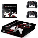 arizona cardinals ps4 skin decal for console and controllers