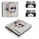 Die antwoord Play Station 4 slim skin decal for console and 2 controllers