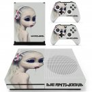 Die antwoord skin decal for Xbox one S console and controllers