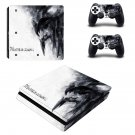 Winter Is Coming Play Station 4 slim skin decal for console and 2 controllers