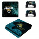 Jacksonville Jaguars Play Station 4 slim skin decal for console and 2 controllers