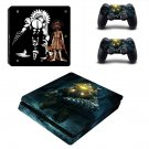Bioshock Big daddy Play Station 4 slim skin decal for console and 2 controllers