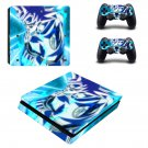 Dragon ball Play Station 4 slim skin decal for console and 2 controllers